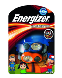 Energizer Kids Headlights Twin Pack Headtorches Blue & Orange 629030